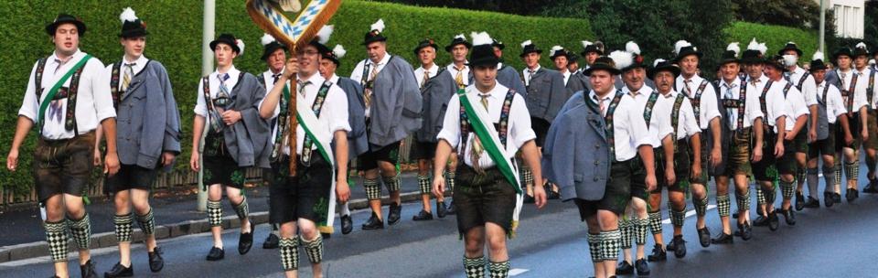 Vorstand und Ausschuß des Volkstrachtenvereins Garmisch